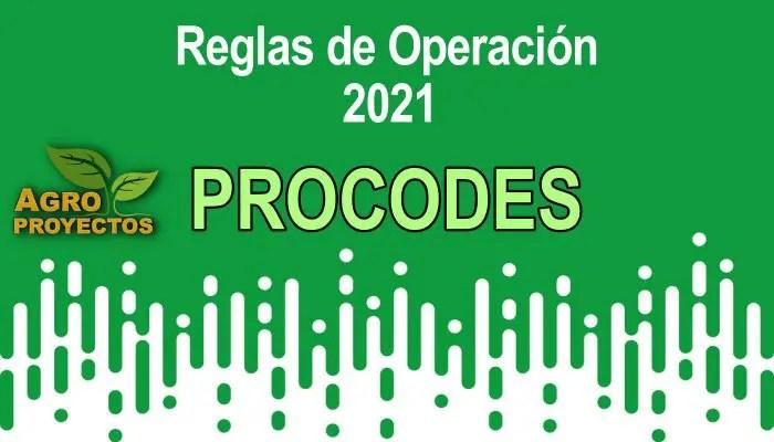 Reglas PROCODES 2021
