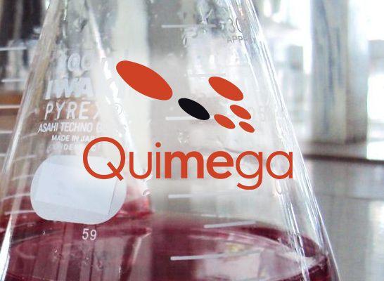 Material de Laboratorio - Logo Quimega