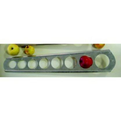 Calibre plancha para manzanas 55-90mm