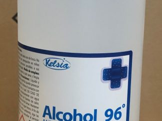 Alcohol 96º - botella de 1 lt.