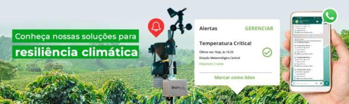 Produtos e soluções de resiliência climática Agrosmart