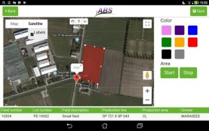 ABS field screenshot