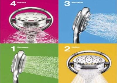 Teleduchas y rociadores de duchas