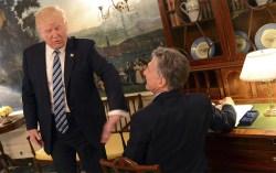 Trump-Macri amigos w