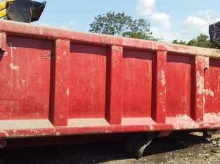 Cajón de volteo de 16 m