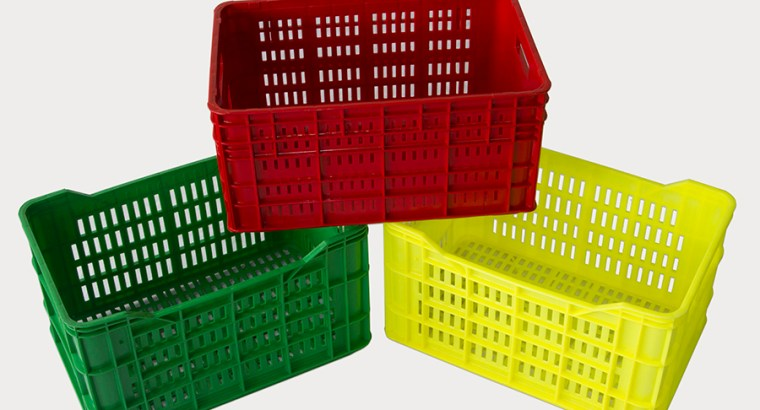 Vendo canastos plásticos