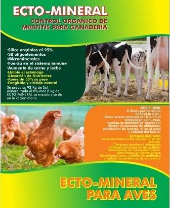 Ecto mineral para aves