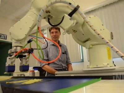 Un robot canadiense para la recolección de champiñones