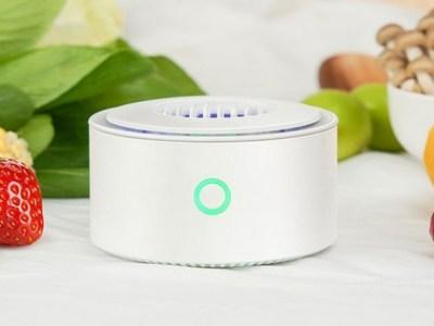 Un nuevo dispositivo desinfecta frutas y verduras mientras carga el móvil