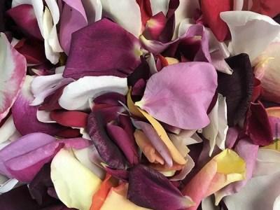 La demanda de flores comestibles aumenta en las fiestas