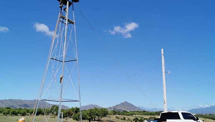 Molinos de viento para extracción agua