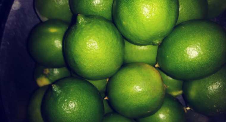 Limón fresco por mayor