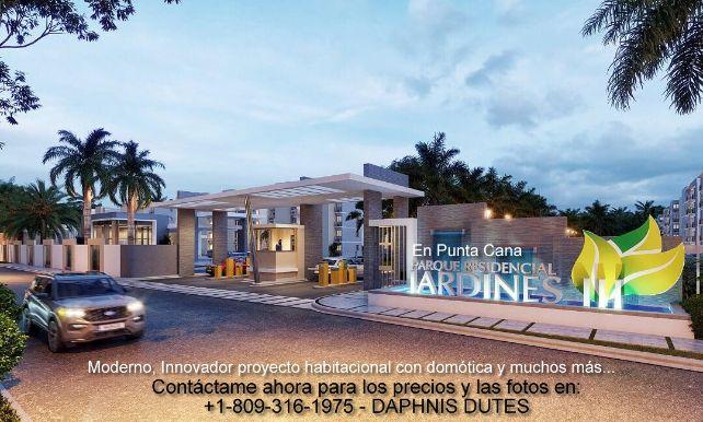 Departamentos en Punta Cana Bavaro menos de 145000 dolares