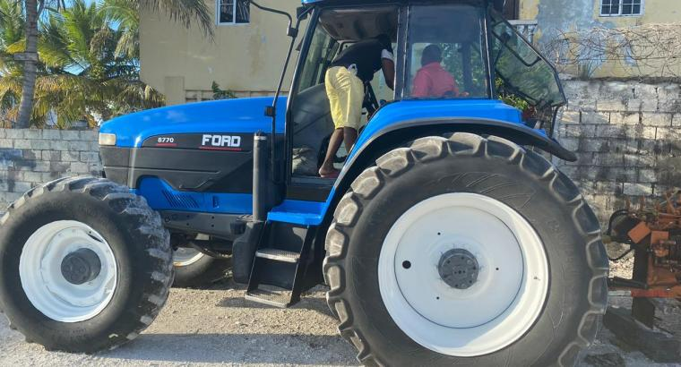 Tractor Ford usado