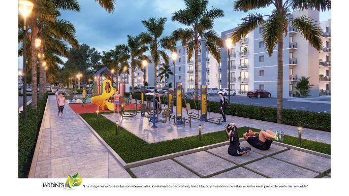 Condominio de Apartamentos de 1 dormitorio en Bavaro Punta Cana