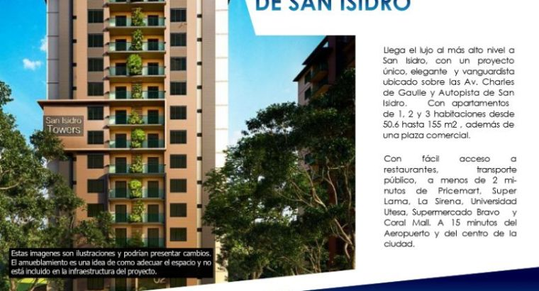 SAN ISIDRO TOWERS en Aut San Isidro