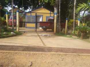 Finca con Casa y río dentro en EL DEAN, Monte Plata
