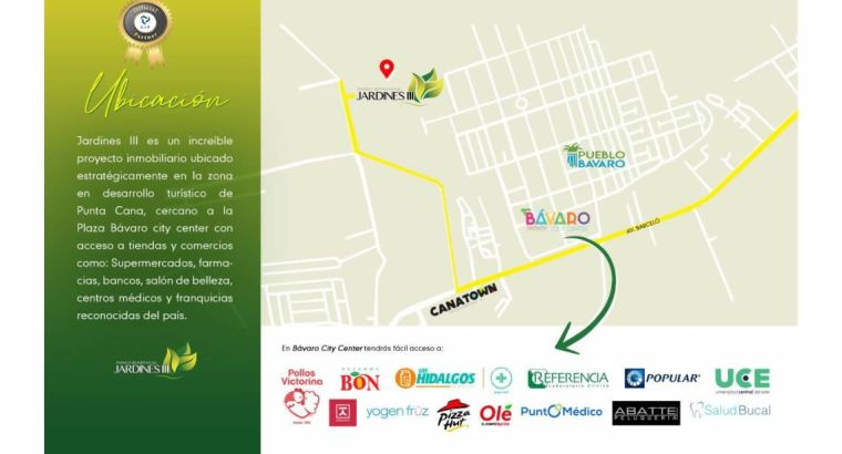 Proyectos Habitacionales de 1,2 y 3 habs, cuartos de dormir en oferta en Punta Cana