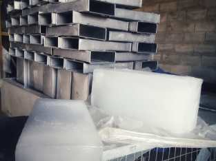 Chiller industrial para fabricar hielo. Dajabon.