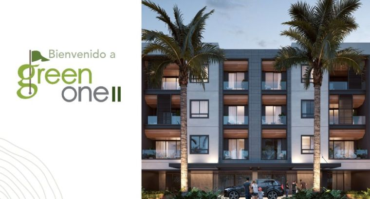 1,2 BRD Condos for sale GREEN ONE II in Punta Cana Village