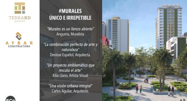 Departamentos en Murales EN Santo Domingo