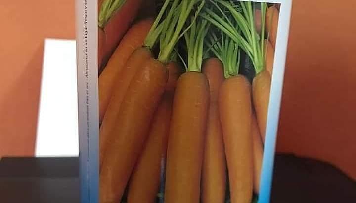 Semillas de zanahorias