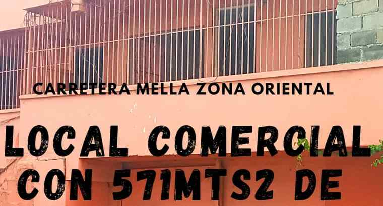 ( TERRENO DE 571MTS2) Con local comercial Sto.Dgo.Este