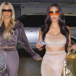 Kim Kardashian e Paris Hilton posam juntas para nova campanha