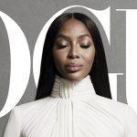 Naomi Campbell é capa da 'Vogue US'