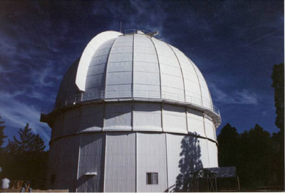 Aspecto actual del observatorio del Monte Wilson
