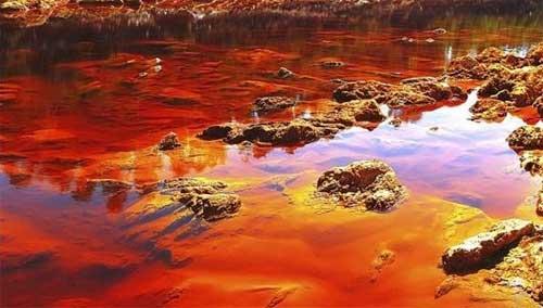 Rio Tinto, un ambiente extremo