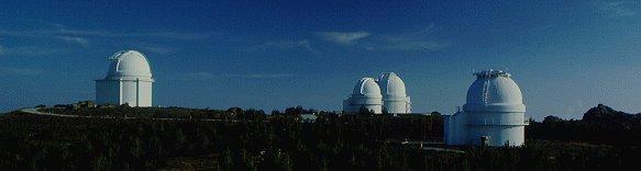 "Vista panorámica del Centro Astronómico Hispano Alemán ""Calar Alto""."