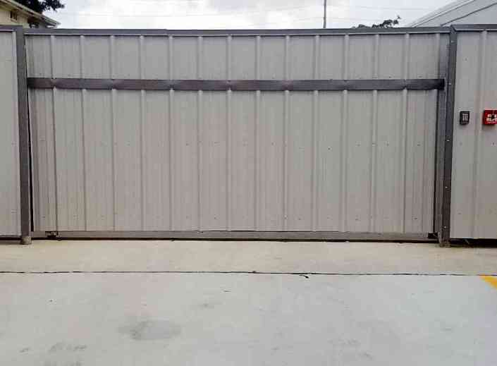 Sheet Metal Roll Gate in New Orleans