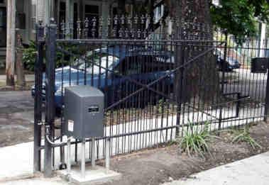 Automatic Rolling Iron Gate