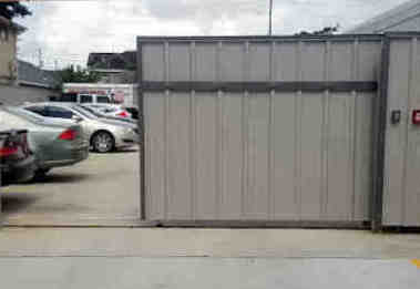 Automatic Sheet Metal Gates