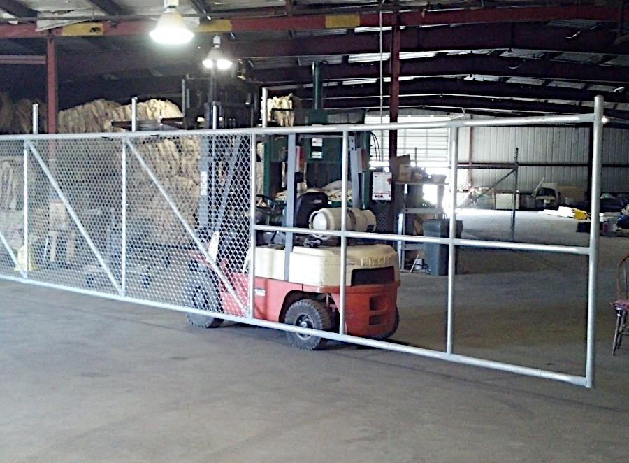 Large Sliding Gate. Work in Progress.