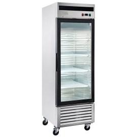 Congelador industrial inox 1 pta vidrio