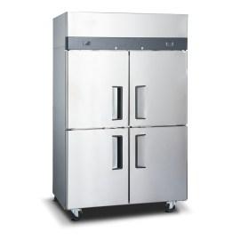 Congeladora industrial inox 4 ptas acero