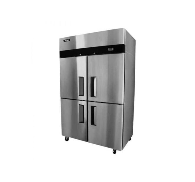 Congelador industrial inox 4 ptas acero