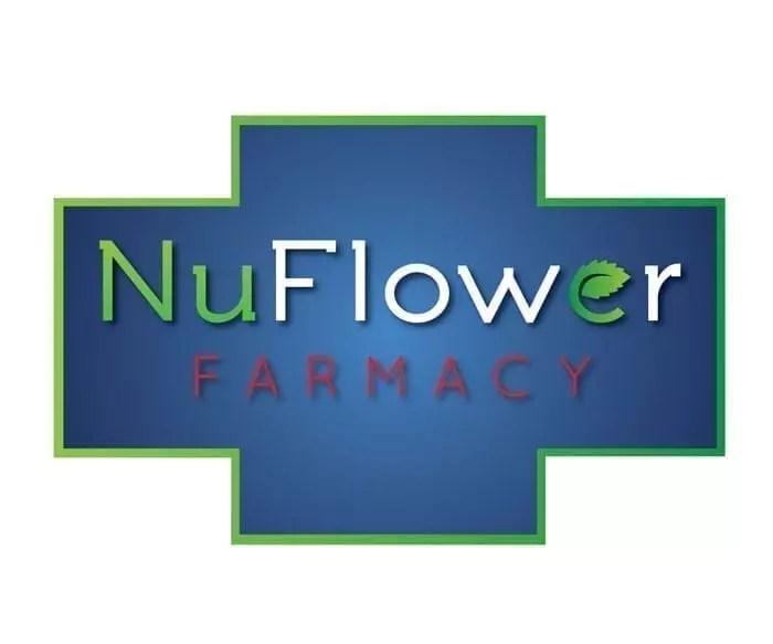 NuFlower Farmacy Logo Design