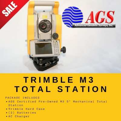 Trimble M3 Total Station | Land Surveying Equipment | AGS