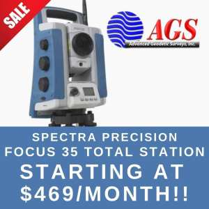 Spectra Precision Focus 35 | Land Surveying Equipment | AGS