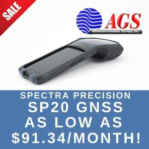 Spectra Precision SP20 | Land Surveying Equipment | AGS