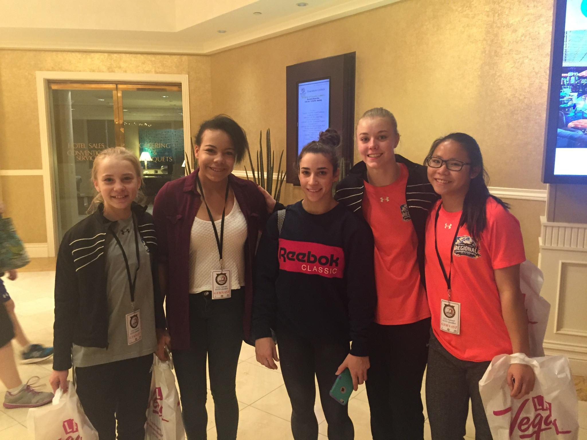 AGS with Aly Raisman