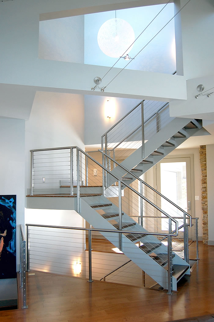 Customer Review Clearview Cable Railing System Stair