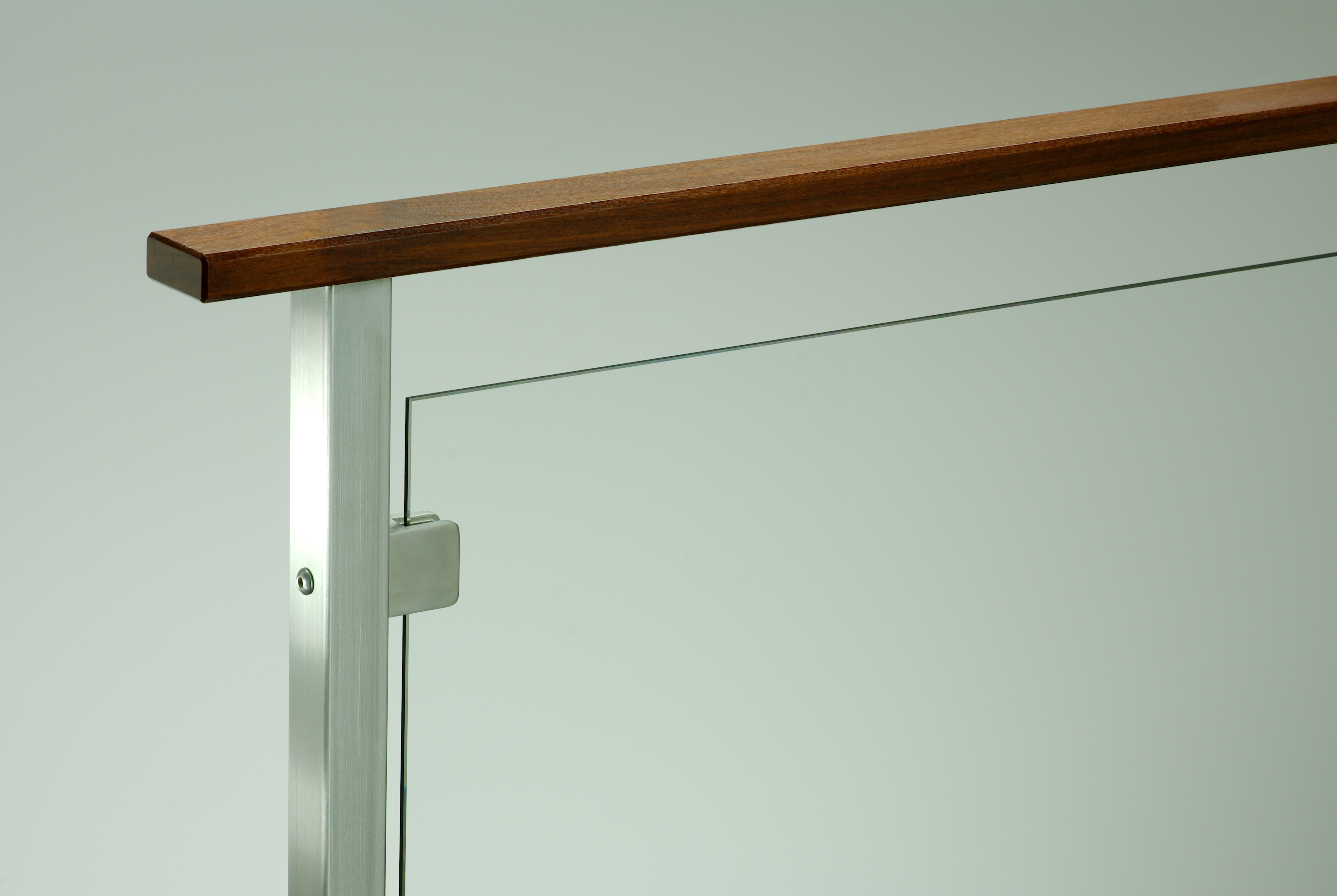 Press Media Agsstainless Com | Wood And Glass Handrail
