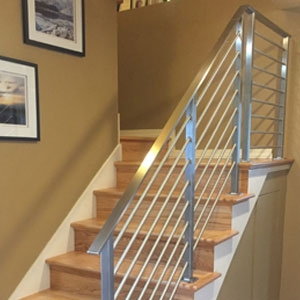 Top 6 Types Of Stainless Steel Railing Systems Agsstainless Com | Stainless Steel Staircase Railing Designs | Curved | Elegant | Balcony | Balustrade | Mono Stringer Steel