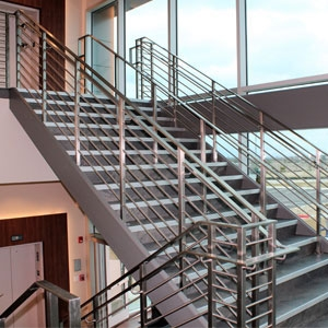 Top 6 Types Of Stainless Steel Railing Systems Agsstainless Com | Stairs Railing Designs In Steel With Glass | Single Wall | Interior | Eye Catching | Steel Main Gate | Contemporary