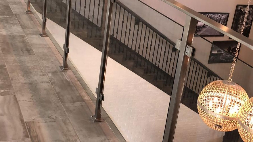 Top 10 Hottest Interior Railing Design Trends Agsstainless Com | Iron X Handrail Picket