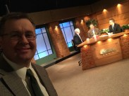 """On set of """"This Week in AgriBusiness"""""""